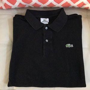 Lacoste men's pique long sleeve size 7 (XL)
